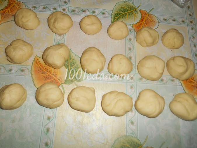 Булочки Лист клевера: рецепт с пошаговым фото