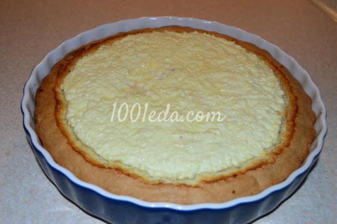 Творожный пирог: рецепт с пошаговым фото