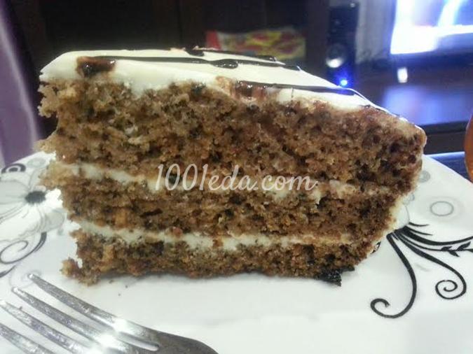 Морковный торт в мультиварке