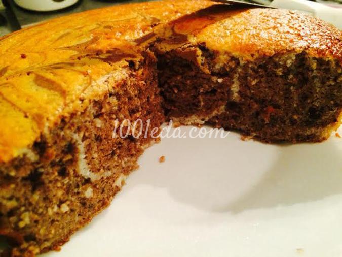 Творожно-ореховый кекс