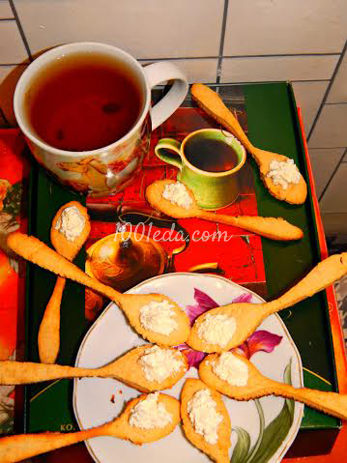 Печенье Десертные ложечки: рецепт с пошаговым фото