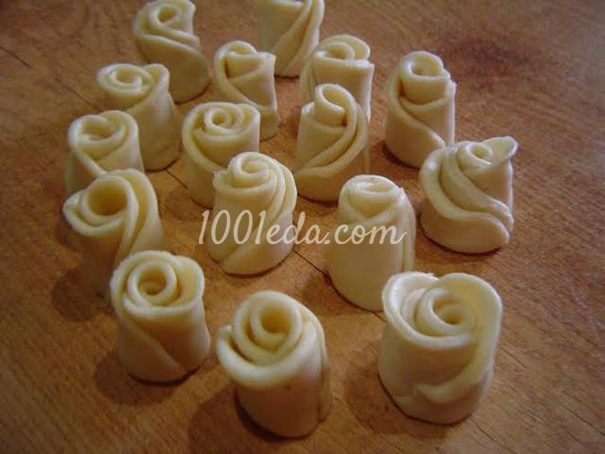 Булочки кружевные: рецепт с пошаговым фото