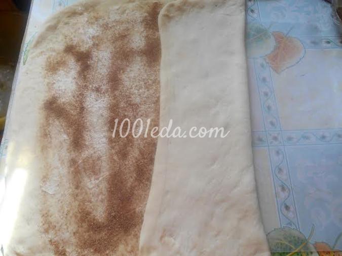 Cдобные колечки с сахаром и корицей: рецепт с пошаговым фото