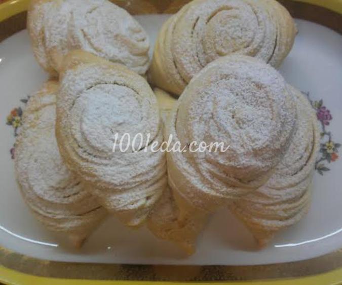 Бадамбура с орехами и черносливом: рецепт с пошаговым фото