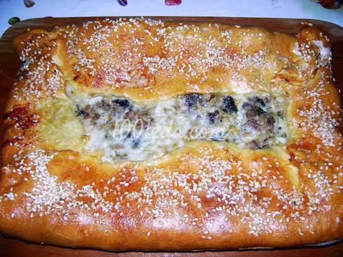 Закусочный пирог Остатки сладки