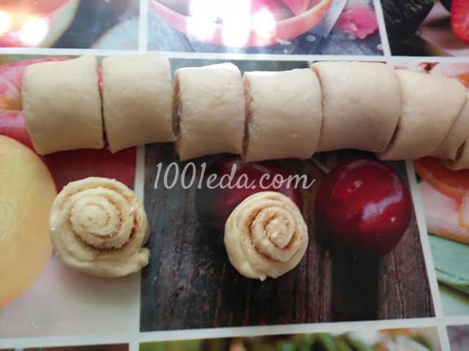 Булки завитушки: рецепт с пошаговым фото