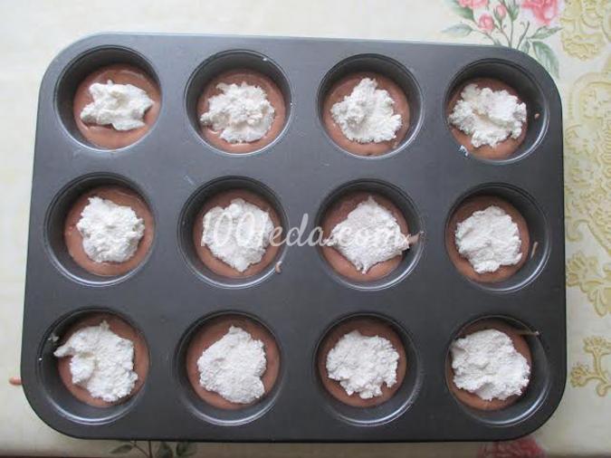 Творожные маффины: рецепт с пошаговым фото