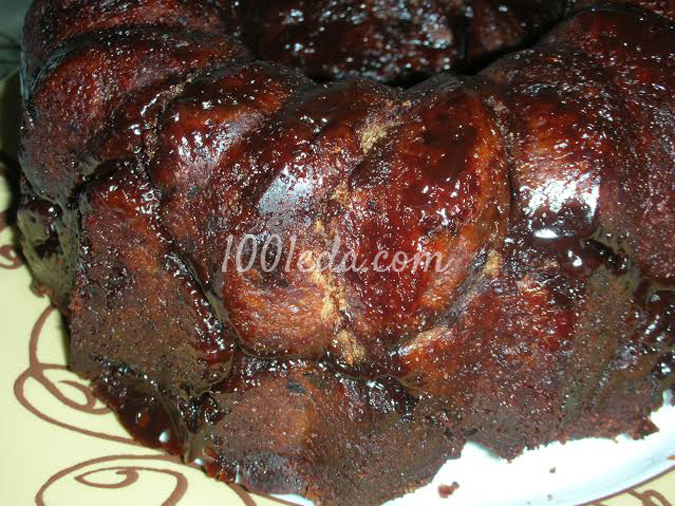 Шоколадный дрожжевой кекс с изюмом: рецепт с пошаговым фото