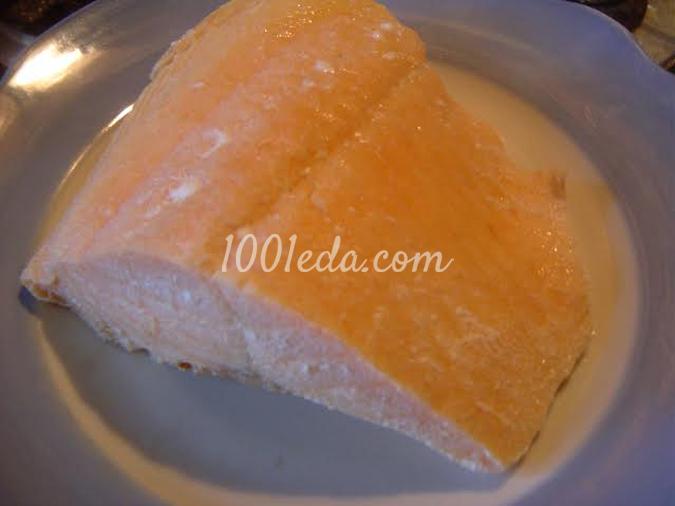 Пирог с красной рыбой, рисом и зеленью: рецепт с пошаговым фото