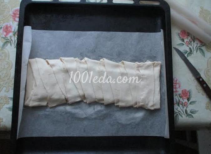 Слоеный пирог с шоколадом: рецепт с пошаговым фото
