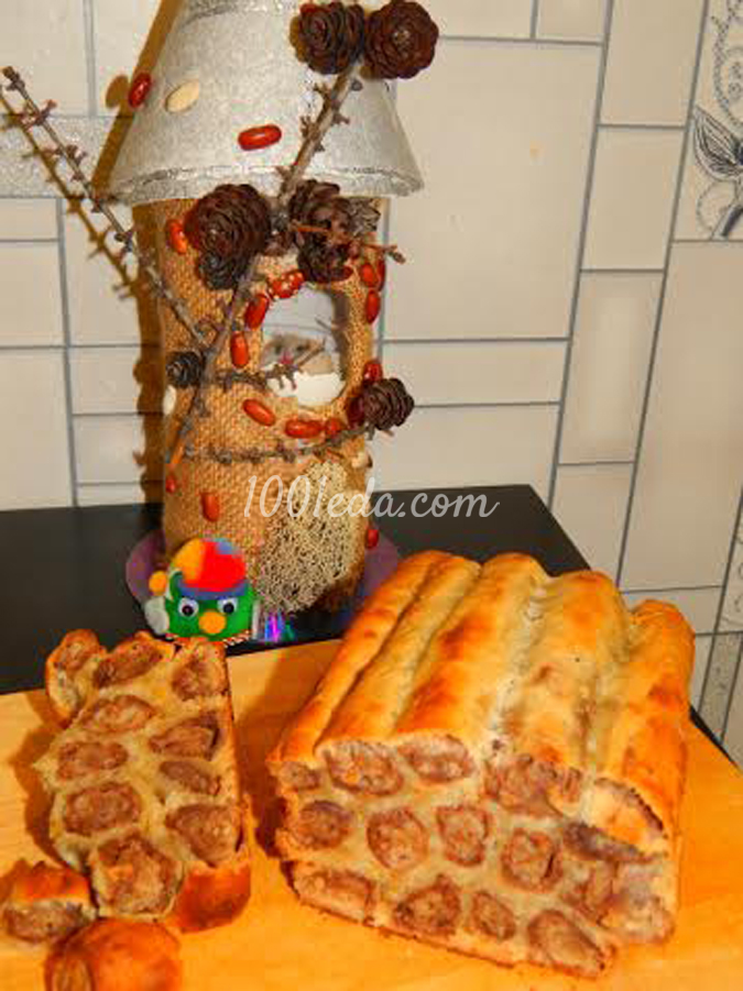 Леопардовый десертный хлеб: рецепт с пошаговым фото
