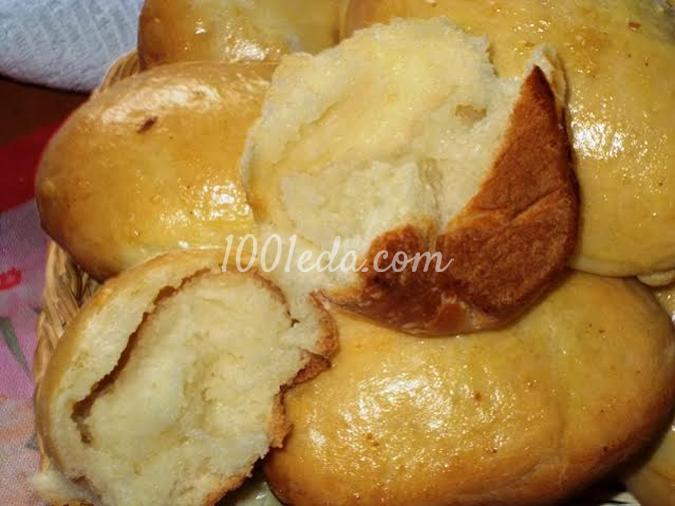 Домашние пирожки из дрожжевого теста на сыворотке: рецепт с пошаговым фото