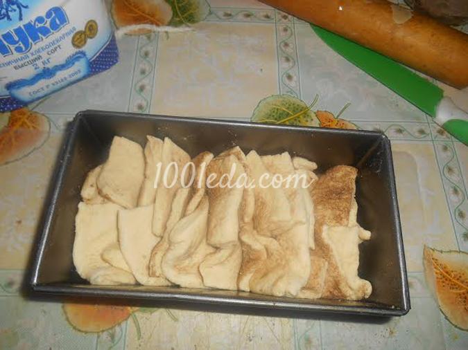 Слоёный хлеб с корицей: рецепт с пошаговым фото