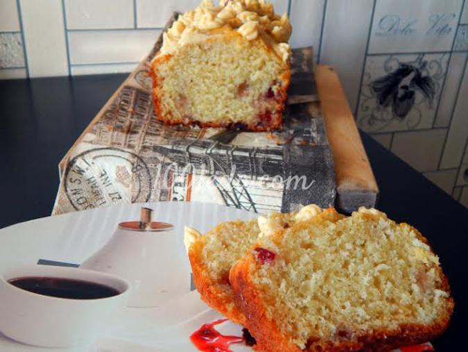 Кекс с масляно-клубничным кремом: рецепт с пошаговым фото