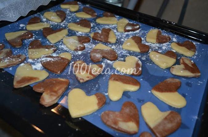 Печенье Влюбленная парочка: рецепт с пошаговым фото