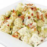Салат из картофеля и ветчины «Натюрель».