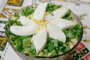 рецепт салата из отварных грибов с фото