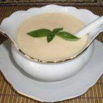 Соус из кефира (основной рецепт).