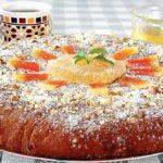 Пирог медовый. Рецепт еврейской кухни.
