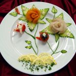 Фото: Розочки из овощей