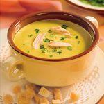 Суп-пюре детский  кабачковый.