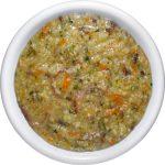 Суп детский овощной с пшеном.