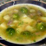 Суп из брюссельской капусты для детей.