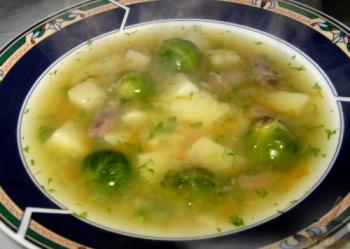 Солянка из капусты с сосиской рецепт с фото суп