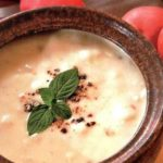Суп-пюре из фасоли для детей.