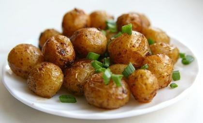 Картофель «В кольчужке».