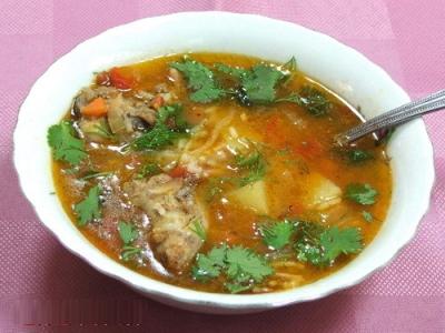 Рисовый суп – кулинарный рецепт