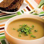 Суп-пюре из картофеля для детей.