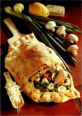 Белая пицца – кулинарный рецепт