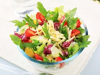 Рецепты летних салатов