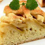 Вкусный рецепт шарлотки с яблоками и бисквитным тестом