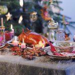 Фото: Рождественский стол