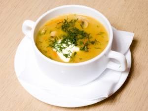 грибной суп из вешенок рецепт с фото