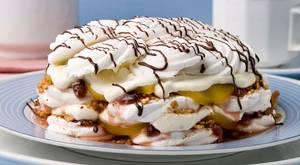 рецепт с фото приготовление торта без выпечки