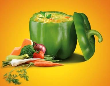 суп в перце