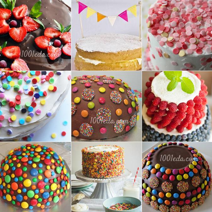 Торты на день рождения 20 рецептов с фото. Как приготовить