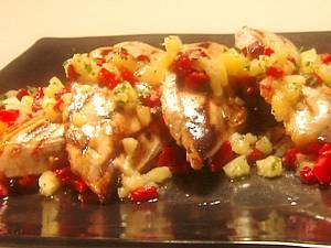 фото Куриные грудки с ананасом