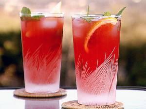 Безалкогольный ягодный мохито