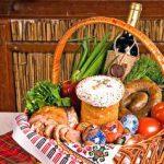 Сервировка пасхального стола в картинках