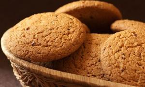 печем печенье из овсяных хлопьев
