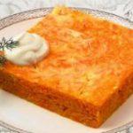 Запеканка морковная с сыром