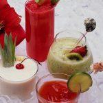 Рецепт фруктово-молочного коктейля с мороженым