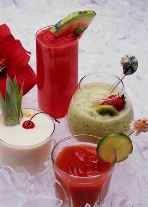 коктейль фруктово- молочный