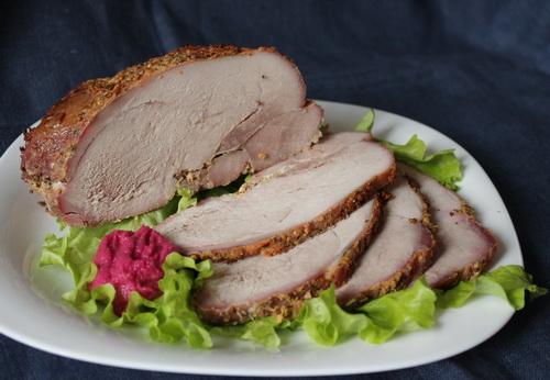 мясо в рукаве буженина из свинины