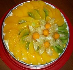 рецепт приготовления Йогуртовый торт