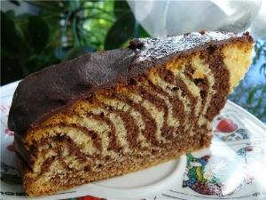 Торт зебра рецепты с этот пирог зебра